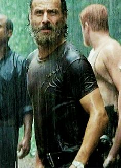 S5 E10 - Them If I cant have shirtless Rick, I suppose rain soaked t shirt Rick is the next best thing
