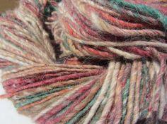 Noro Nadeshiko Angora Silk Wool Yarn Color 17 Red by dianneslegacy, $20.00