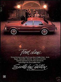 Cadillac Seville Car Photo First Class (1982)