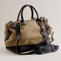 Billykirk schoolboy satchel.  (perfect for a weekend get away)