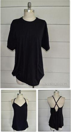 Braided Back Tee #4: DIY (WobiSobi)