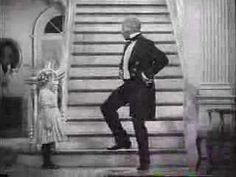 "Bill ""Bojangles"" Robinson dances the stairs with Shirley Temple from ""The Little Colonel"" (1935)"