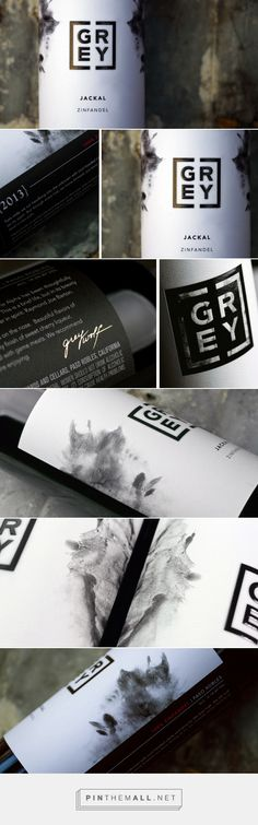 GREY Wine -  Packaging of the World - Creative Package Design Gallery - http://www.packagingoftheworld.com/2016/07/grey.html