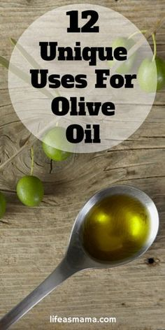 Don't you love it when you find that one of your regular household or pantry staples has many uses? That olive oil you've been religiously keeping stocked with your spices is one of those! Turns out, it's not just an oil that's great for dipping your favo