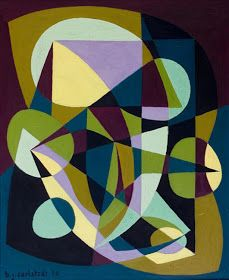 Mid-century abstract. Birger Carlstedt