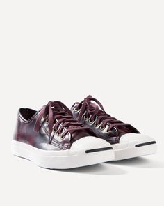 Converse Jack Purcell - Box leather oxheart