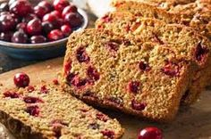 Wild-Rice-and-Cranberry-Bread-Machine-Loaf-Recipe Easy Homemade Bread Machine Recipes Cranberry Quick Bread, Cranberry Cake, Cranberry Recipes, Cranberry Orange Bread Machine Recipe, Pumpkin Cranberry Bread, Loaf Recipes, Bread Machine Recipes, Cake Recipes, Pan Rapido