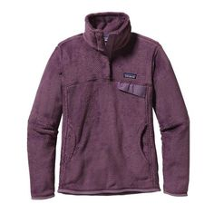 Patagonia Women's Re-Tool Snap-T® Fleece Pullover | Tyrian Purple - Tyrian Purple X-Dye