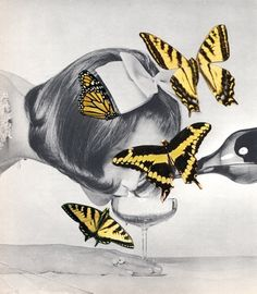 Beth Hoeckel MORE collage, graphic, mixed media art HERE http://graphicmixedmedia.altervista.org/