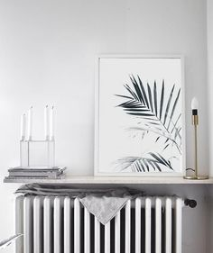Palm Leaves art Print by The Printable Cøncept <3
