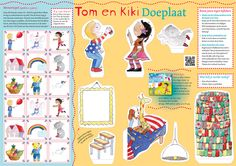 Doe plaat voor kinderen n.a.v. het boek 'Jij hoort erbij' met illustraties van 'Zus en ik illustraties'