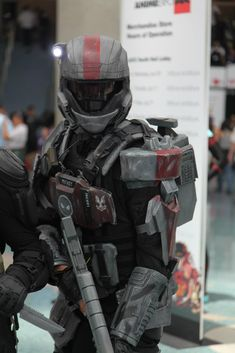 Costume of Mickey from Halo 3: ODST