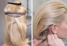 стильные прически для волос фото урок