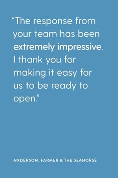 Our Client Service team are one of the friendliest, creative and hard working group of people you'll ever meet and their level of professionalism is second to none. Feedback like this are what its all about for us. At Cargo Crew we pride ourselves on offering the highest level of service to you and your crew, no matter how big or small, or where in the world you are. | Restaurant Uniforms | Restaurant Design Inspiration | Uniform Ideas