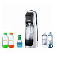 SodaStream Jet Starter Kit w/ 4 Bottles for $44.99