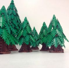 Lego Pine Trees                                                                                                                                                                                 More