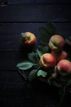 Honey and Goat Cheese Ice Cream with Roasted Peach Ripple // Meghan Faulkner