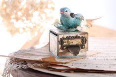 отпечатки (OTPECHATKI.COM.UA): Коробка для кольца. Винтаж (Vintaje Ring Box)