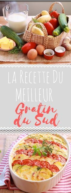 Découvrez la recette du meilleur gratin du sud Veg Recipes, Light Recipes, Cooking Recipes, Healthy Recipes, Fat Foods, Cordon Bleu, Food Humor, Creative Food, Love Food