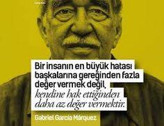 Gabriel Garcia Marquez sözleri ile ilgili görsel sonucu