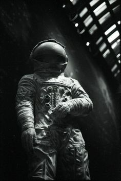 Ancient spaceman