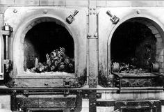 Furnaces at Buchenwald concentration camp