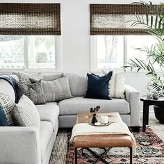 Inside A Calm, Coastal California Bungalow - A polished, coastal family home. - Photos