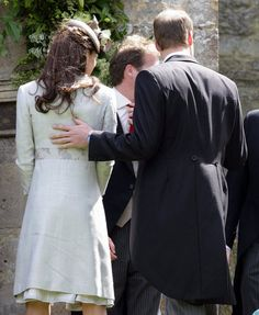 Will and Kates Sweetest Moments Through the Years!: In December 2010, Prince William and Kate Middleton stepped out publicly for their first time since announcing their engagement.  : Prince William rested his hand on Kate Middleton's back at a wedding in June of 2012.