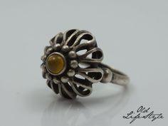 Pierścionek ORNO - bursztyn Gemstone Rings, Designers, Bright, Jewels, Jewellery, Gemstones, Amazing, Beauty, Vintage