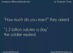 The Scribbled Stories. Navy Quotes, Words Quotes, Life Quotes, Tiny Stories, Short Stories, Indian Army Quotes, The Brave One, Heart Touching Story, Courage Quotes