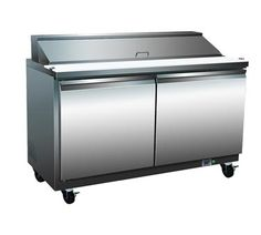 Serv-Ware SP48-12 Refrigerated Counter, Sandwich Top