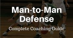The man-to-man defense is the most common defense at all levels of basketball. Check out this complete 5,000+ word guide on how to run it!