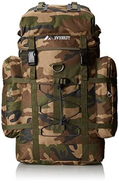 162e53a092b Everest Woodland Camo Hiking Pack Camouflage One Size -- Read more reviews  of the product
