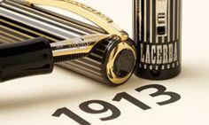 Vendita penne stilografiche di lusso artigianali da collezione in argento – Penna Lacerba 1913