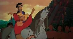 A majestic screenshot from The Road to El Dorado