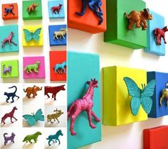 Top 28 Most Adorable DIY Wall Art Projects For Kids Room art diy art easy art ideas art painted art projects
