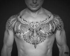 Work by Mark Bash from Tattooism Israel - Tätowierung Frau Wolf Tattoos, Eagle Tattoos, Dream Tattoos, Badass Tattoos, Future Tattoos, Black Tattoos, Body Art Tattoos, Sleeve Tattoos, Tattoos For Guys