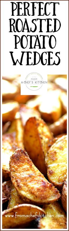 Once you learn the secrets to perfect roasted potato wedges, the sky is the…