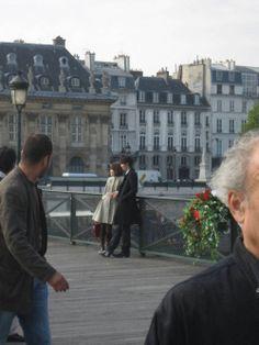A PARIS PONT DES ARTS
