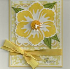 Build a Blossom! Stampin Up