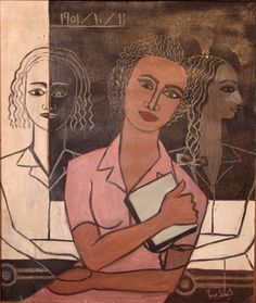 In the Classroom by Gazbia Sirry (Eygpt), 1951