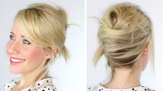 Messy French Twist - Oh my word I loved this! I wonder if my hair is long enough. hmm