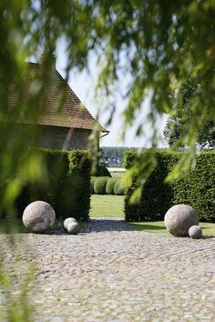 Belgian garden of B. Garnier
