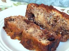 #paleo Amazing Banana Bread: 4 very ripe bananas, mashed; ½ cup coconut oil or grass-fed butter, melted; 4 free-range eggs; 1tsp vanilla; 1½ tsp cinnamon; ½ cup organic coconut flour (do not substitute another flour – it will not work); 1 heaping tsp baking soda; ¼ tsp salt | optional add-ins: ⅓ cup dark chocolate chips, walnuts, pecans, slivered almonds, raisins, etc.