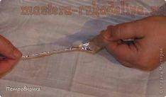 Мастер-класс по плетению из проволоки: Ёлочка из фольги
