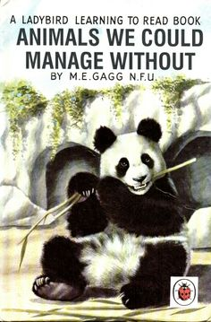 """""""Animals We Could Manage Without"""" Classic Forgotten Ladybird Books"""