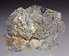 Arsenopyrite with Quartz and Fluorite from China by Dan Weinrich