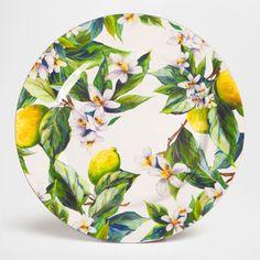 Zara Home New Collection Zara Home, Ceramic Spoons, Ceramic Plates, Pottery Painting, Ceramic Painting, Cerámica Ideas, Charger Plates, Plate Chargers, Fruit Illustration