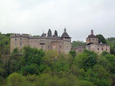 Château de Chastellux-sur-Cure, Yonne, Bourgogne, France.