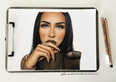 All done! The beautiful @carlibel  tag her please ! #carlibybel #fashionillustrations #fashionilluatrator #fashiondesigner #fashionillustration #fashionartist #design #designer #illustrator #sketch #drawing #art #artist #illustration #fashion #illustrate #copicmarkers #copics #pastels #softpastels #fabercastell #conte #leeannvisserillustrations